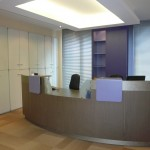 Orthodontic practice - Reception area